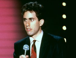 Jerry Seinfeld doing standup in the years before SEINFELD.