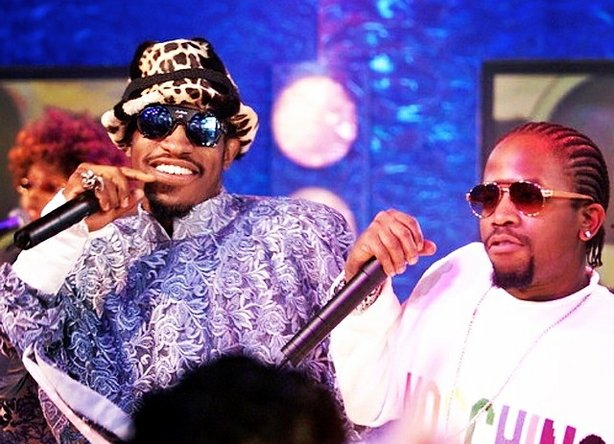 Andre 3000, left and Big Boi of Outkast will reunite to perform at the Coachella music festival.
