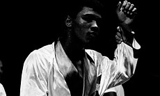 Rising star, Cassius Clay.