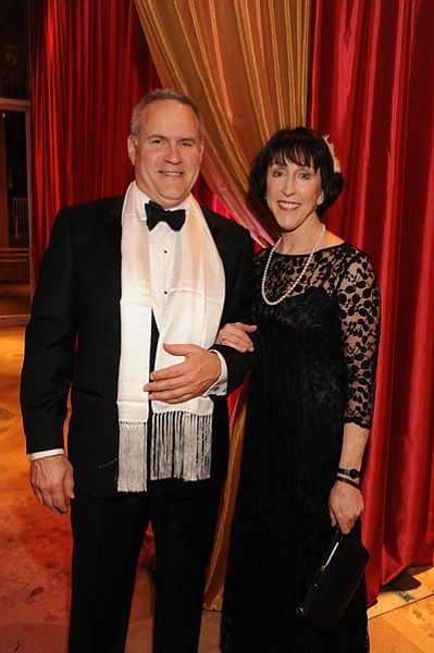 Opera board members Carol Lazier and her husband Jay Merritt.