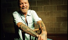 "Gregg Allman in ""Muscle Shoals."""