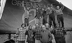 "The crew on-board the ship, Phyllis Cormack (also called Greenpeace), are the pioneers of the green movement who formed the original group that became Greenpeace, as featured in AMERICAN MASTERS ""A Fierce Green Fire."" This is a photographic record of the very first Greenpeace voyage, which departed Vancouver, Canada on September 15, 1971. The aim of the trip was to halt nuclear tests in Amchitka Island (Alaska) by sailing into the restricted area."