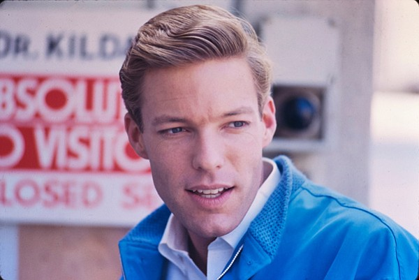 Richard Chamberlain - early 1960s heartthrob Dr. Kildare.