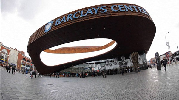 Barclays Center, Brooklyn, N.Y., design by SHoP Architects.