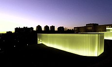 Bloch Building at the Nelson-Atkins Museum of Art, Kansas City, Mo., design by Steven Holl Architects.