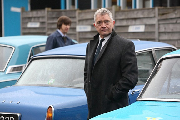 Martin Shaw as Inspector Gently and Lee Ingleby as Sgt. J...