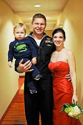 Kevin Lacz and family.