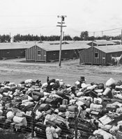 Internment camp in California where George Takei (STAR TREK) was held as a young boy.
