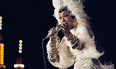 Josephine Baker in performance, January 1, 1968...