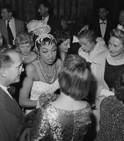 Josephine Baker (1906-1975), American artist of music hall, Paris, Olympia, 1959. (Agency reference - 56214657)
