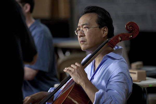 Silk Road Ensemble founder and renowned cellist, Yo-Yo Ma.