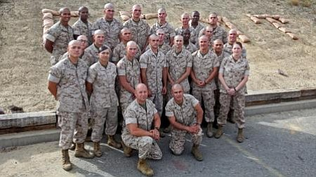 Marines with 2nd Platoon, General Support Motor Transport Company, Combat Log...