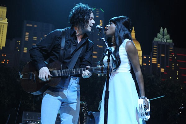 White Stripes leader Jack White performs in support of his solo LP