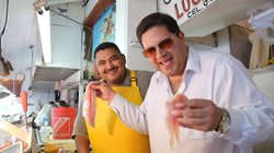 Host Jorge Meraz visits downtown Ensenada where we learn how to fillet a fish...