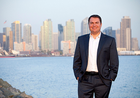 Carl DeMaio, a candidate for Congress in the 52nd District, in a photo from h...