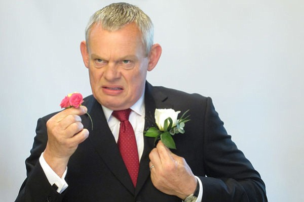 Martin Clunes reprises his role as Dr. Martin Ellingham, ...