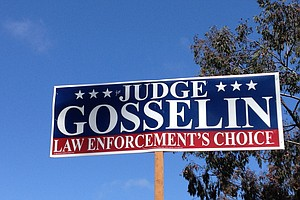 San Diego Judicial Candidate's Campaign Signs Called Misleading