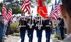 Color Guard, Fort Rosecrans National Cemetery, May 26, 2014.
