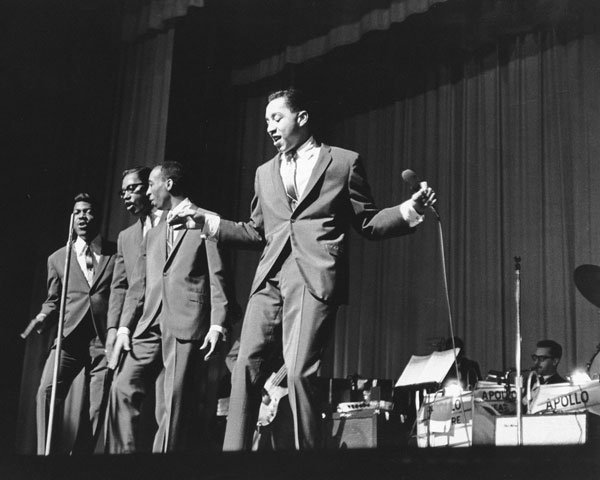Motown favorites Smokey Robinson & the Miracles perform