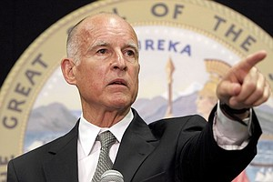 Gov. Jerry Brown Coasts Into Unprecedented Fourth Term