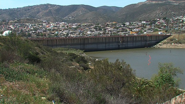 Ensenada's one reservoir is so dry that authorities had to take its pumping s...