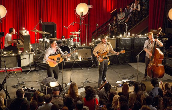 "Mumford & Sons perform ""The Cave."" A ""5th Anniv... ()"