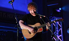 "Ed Sheeran performs ""Lego House."" A ""5th Annive... (39791)"