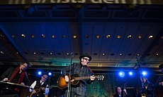 "Elvis Costello performs ""Blame It On Cain."" A ""... (39793)"