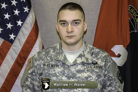 U.S. Army Pfc. Matthew H. Walker