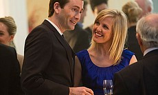 David Tennant as Will Burton and Ashley Jensen ...