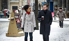 Sophie Okonedo as Maggie Gardner and David Tenn...