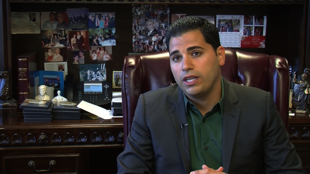 Mark Arabo, a spokesperson for the Iraqi Chaldean community in San Diego County, says he worries about mass genocide of Christians and minorities in Iraq as violence continues to escalate, June 12, 2014.