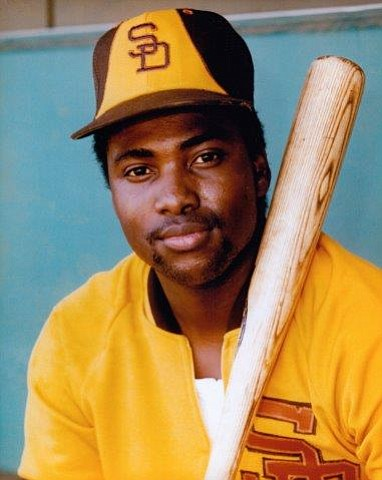 Tony Gwynn, seen in the Padres signature yellow...