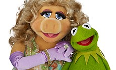 Miss Piggy and Kermit the Frog join the all-sta...