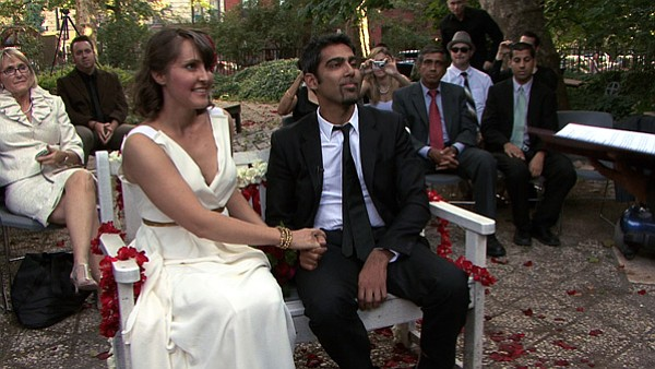 Alice Cook and Jason DaSilva get married.