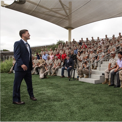 Kyle Carpenter at Camp Pendleton