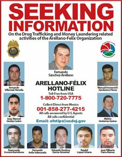 A poster released by the U.S. Drug Enforcement Administration in 2009 seeks i...