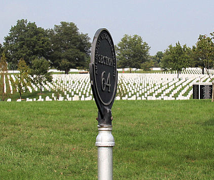 Section 64 of Arlington National Cemetery