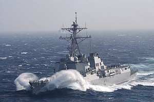 Navy Ships USS Princeton, USS Howard To Return To San Diego