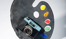 """For every photographer who clamors to make it as an artist, there is an artist running a grave risk of turning into a photographer. (Foote),"" c. 1972, by Bob Matheny, will be on exhibition at the Oceanside Museum of art from July 5 through November 2, 2014. The piece is from the collection of the artist."
