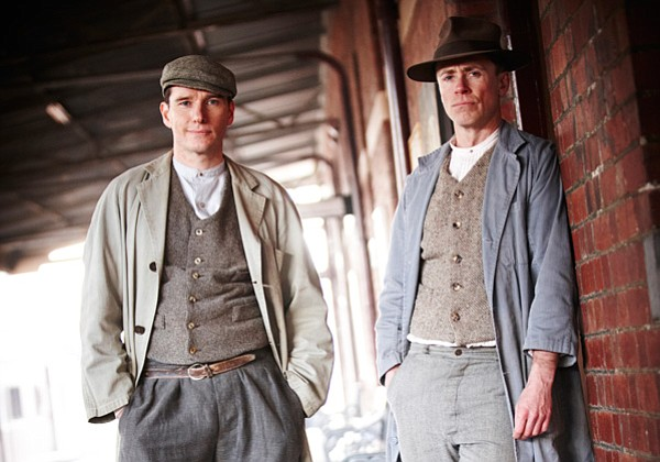 Cec (Anthony Sharpe) and Bert (Travis McMahon) from episode two