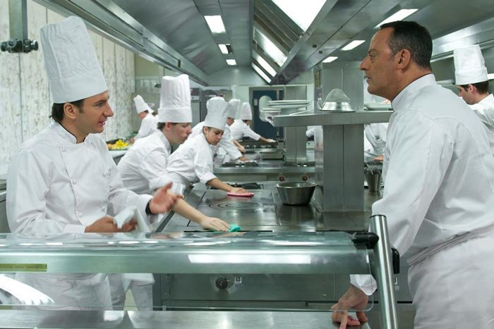 Michael Youn and Jean Reno display a passion for food in the French comedy,