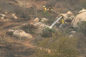 95-Acre Mission Trails Fire Extinguished