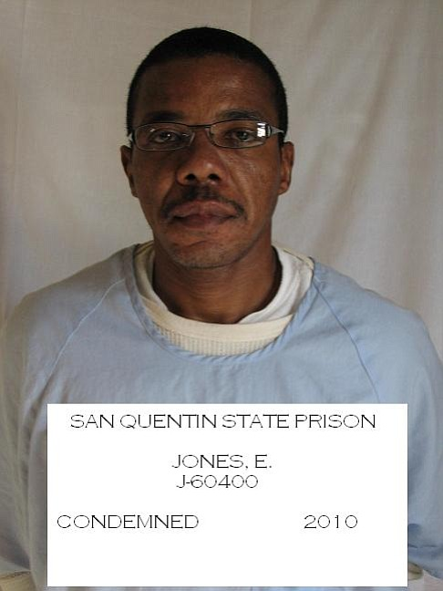 Ernest Dewayne Jones is shown in this prison photo.
