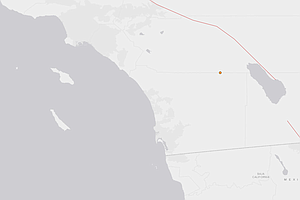 3.4 Earthquake Shakes East County San Diego Desert Area