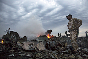 U.S. Officials: Malaysian Airliner Likely Shot Down By Mi...