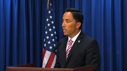 City Council President Todd Gloria talks about the minimum wage ordinance pas...