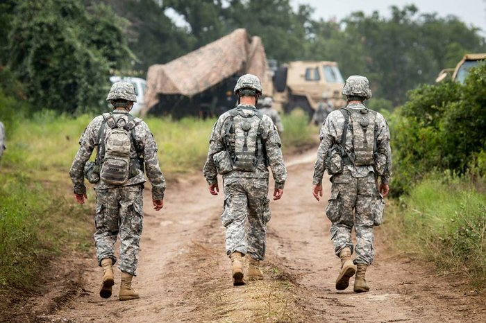 Image result for PHOTOS OF NATIONAL GUARD TROOPS