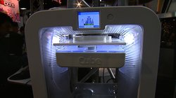 3D Printer on display at Comic-Con