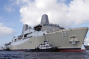Anchors Aweigh: USS San Diego Sets Off On Maiden Deployment